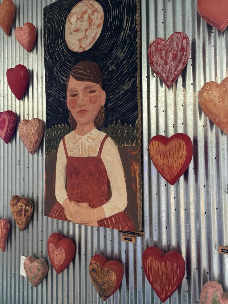 Amy & Kelsey Hearts