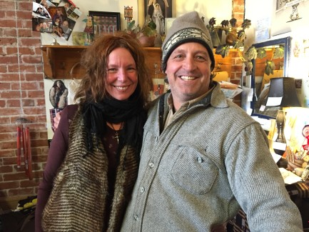 Terry and Greg have created a cultural venue in their creative consignment shop, Wanderlust, in Salida, CO