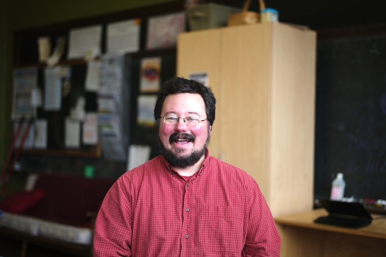 Jacob Hundt —one of the founding students in 1996, and now Program Administrator at YIHS.