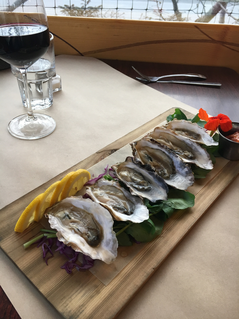 two sisters bakery with kachemak bay oysters