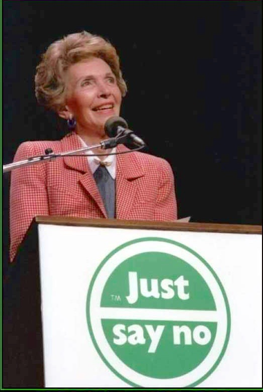 just-say-no-first-wife-nancy-reagan-drug-war-prohibition-sci-political-poster-1269748810 (1)