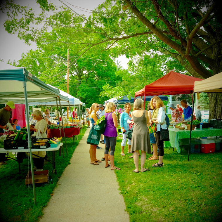 Farmer's Market in Fairfield, IA
